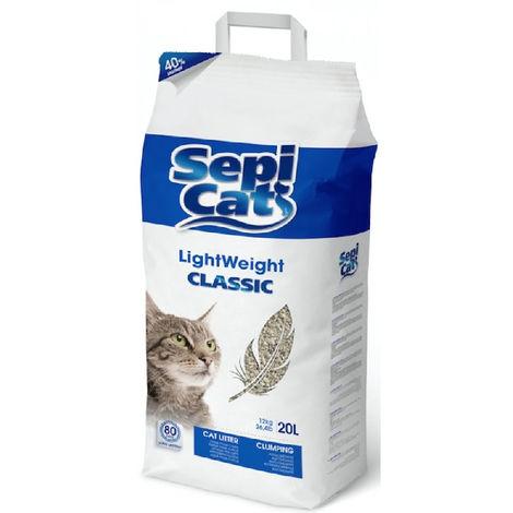 Katzentoilette 20 Liter   Leichte absorbierenden Sand Sepicat Klassisch   Arena saugfähiges Haustier