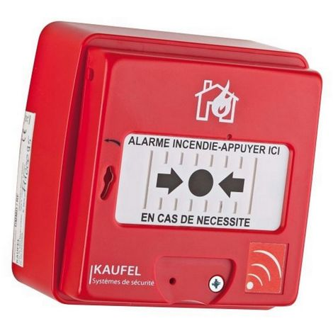 Kaufel 534130 - Manual Trigger red radio without fil