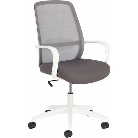 Kave Home - Melva office chair in grey - Grey