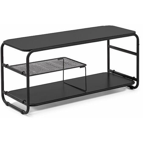 Kave Home - Mueble de TV Academy 98 x 46 cm de acero