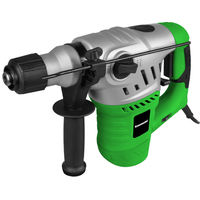 Kawasaki Bohrhammer, 1500 Watt, 4,5 Joule, SDS Plus Bohrfutter, inkl. Bohrer und Meißel, K-EHD 1500-32