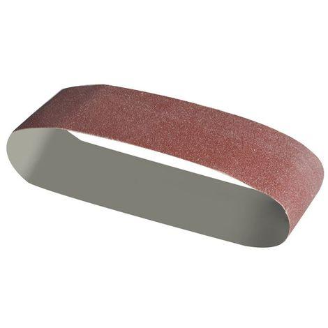 5PCS Bandes abrasives grains 180 75x533 mm pour ponceuse /à bande//courroies abrasives