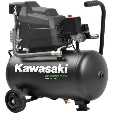 Außergewöhnlich Kawasaki Kompressor, Luftkompressor Werkstatt, fahrbar, 1100W, 8 #UO_39