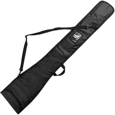 Kayak Boat Paddle Bag Sac de rangement protecteur Sac de transport pour pagaies en deux pieces, modele: Noir