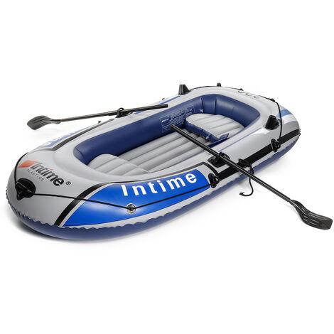Kayak de dériveur de bateau de pêche gonflable Seahawk pour 3 personnes