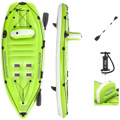 Kayak Gonflable Bestway Hydro-Force Koracle 270x100 cm Individuel Pagaie et Pompe