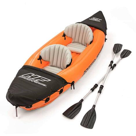 Kayak Gonflable Bestway Hydro-Force Lite-Rapid 321x88 cm 2 Personnes avec Rames