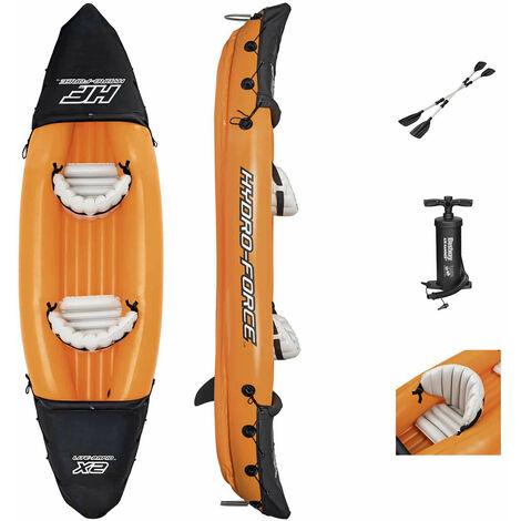 Kayak Gonflable Bestway Hydro-Force Lite-Rapid 321x88x42 cm 2 Personnes 2 Pagaies