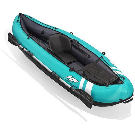 Kayak gonflable - Hydro-Force Ventura - L 280 cm x l 86 cm x H 40 cm - Bleu - Livraison gratuite