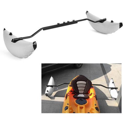 Kayak Pvc Gonflable Outrigger Flotteur Avec Sidekick Bras Rod Kayak Bateau De Peche Permanent Flotteur Stabilisateur Kit Systeme