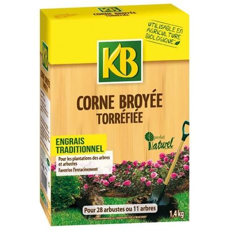 KB BIO - Corne broyée torréfiée biologique - 1.4Kg