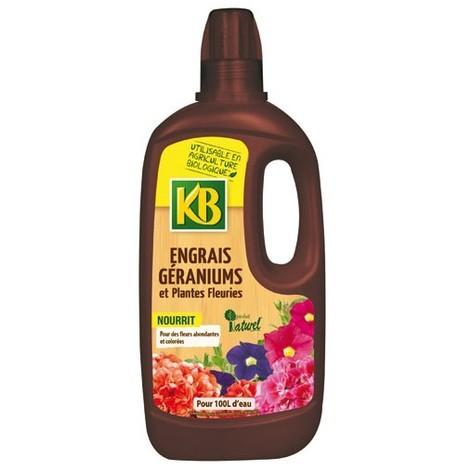 KB BIO - Engrais géranium liquide - 1L