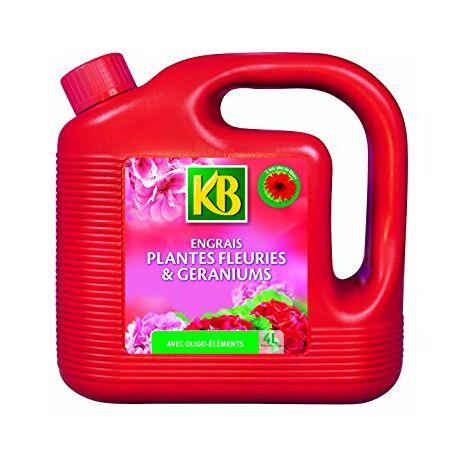"""main image of """"KB Engrais Geraniums et Plantes Fleuries Liquide 4L"""""""