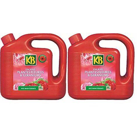 KB - Engrais Liquide Plantes Fleuries ET Geraniums - KBGER4