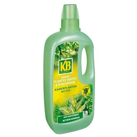 KB - Engrais plantes vertes d'intérieur - 1 L