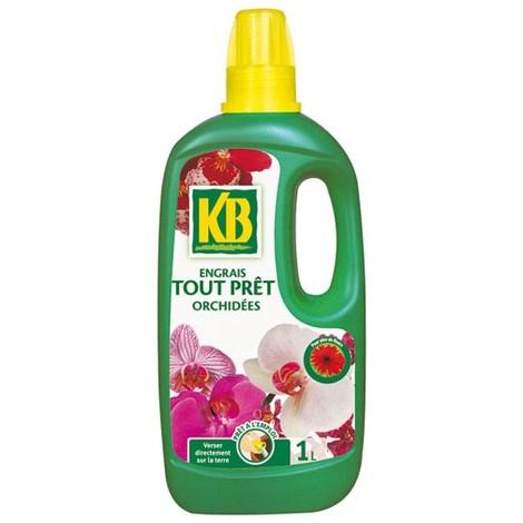 KB - Engrais tout prêt orchidées - 1 L