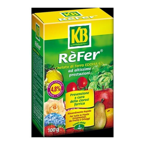 Kb Rèfer chelato di ferro prevenzione e cura colrosi ferrea 100 g