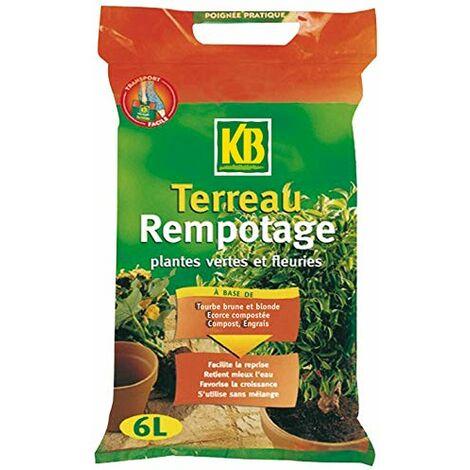 KB TERREAU POUR REMPOTAGE 6L /NC