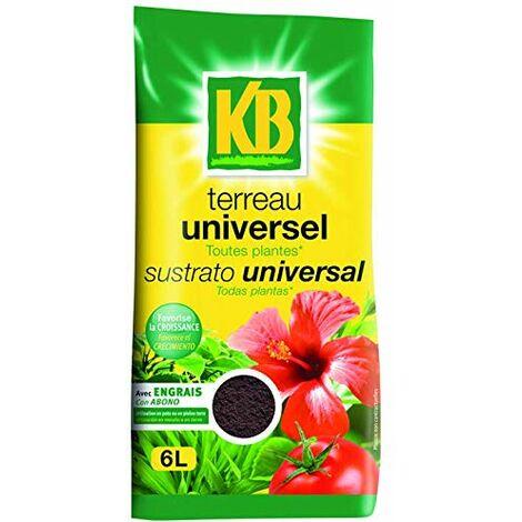 KB TERREAU UNIVERSEL 6L /NC