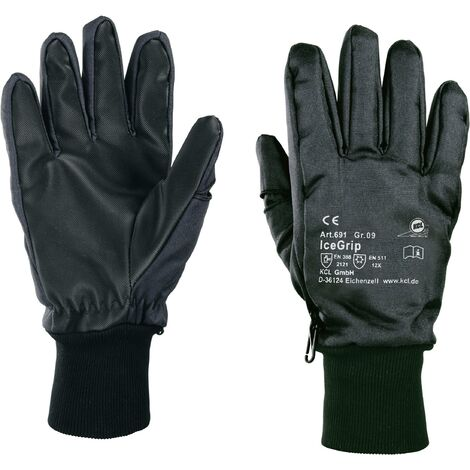 KCL IceGrip 691 691 PVC Arbeitshandschuh Größe (Handschuhe): 9, L EN 388 , EN 511 CAT III 1 Paar C24924