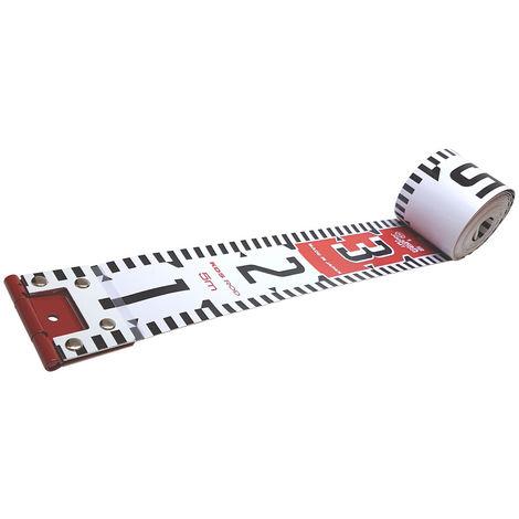 KDS 5 m Bandmaß Maßband Rollbandmaß Ribbon Rod, Weitsprung, Foto, Polizei,Sport