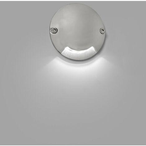 KEENAN-2 Lámpara empotrable suelo - Níquel