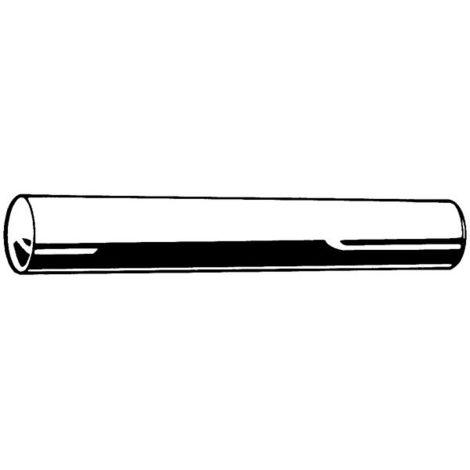 Kegelstifte Automatenstahl 4X80mm DIN 1 B 25Stk