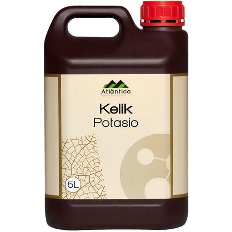 KELIK POTASIO 5 L, aporte extra de potasio para abonos Óxido de potasio (K2O) soluble en agua 50 %
