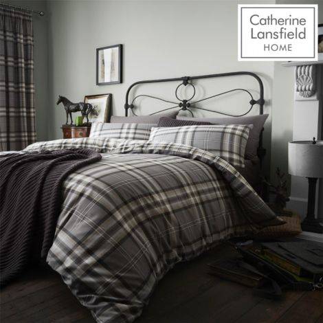 KELSO CHARCOAL QUILT SET DOUBLE