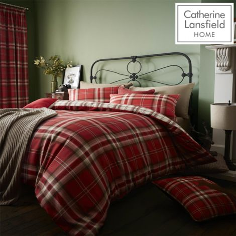 KELSO RED QUILT SET SINGLE