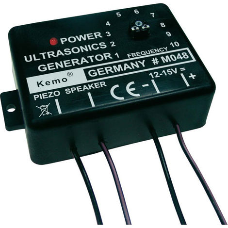 Kemo M048 Ultrasound Generator Module Component 12 - 15 VDC