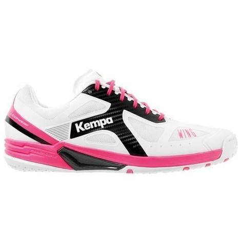b8b0a5396ed43 KEMPA Chaussures de handball Wing Lite - Femme - Blanc - 38 - 688446