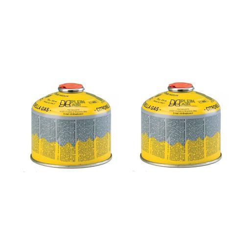 Kemper 2 x cartouche 230g butane et propane - parfum citronnelle