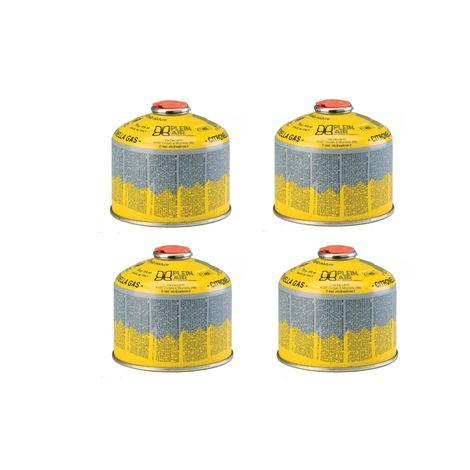Kemper 4 x cartouche 230g butane et propane - parfum citronnelle