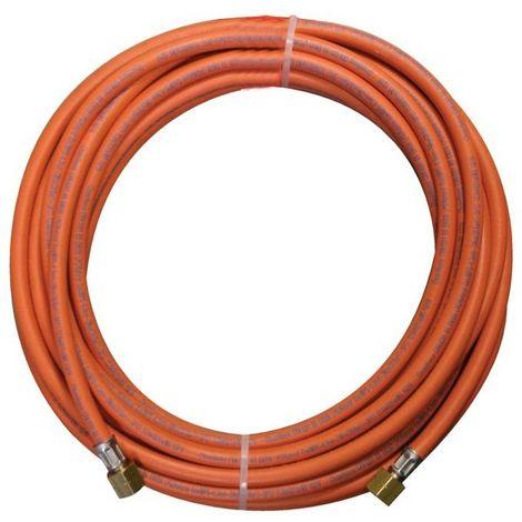 Kemper 4659 tuyau gaz en caoutchouc 5m raccord 3/8