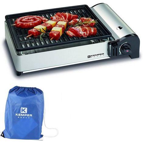 """main image of """"Kemper Barbecue à gaz portable réchaud à gaz cuisinière de camping"""""""