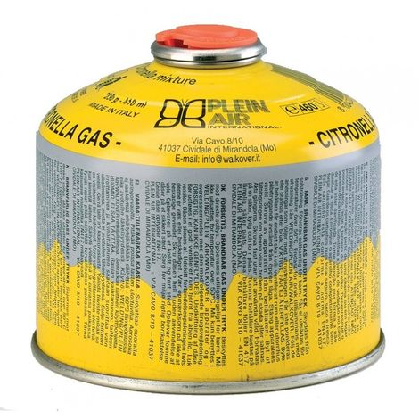 Kemper Cartouche de gaz 230 g butane propane - parfum citronelle