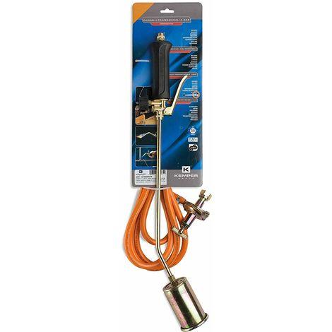 Kemper désherbeur à gaz + tuyau 5 m + détendeur