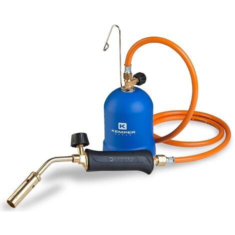 Kemper Torche de soudage 1217C - 2,2 kW - 20mm - avec 1,5 m de tuyau de gaz - 2200W - 650 °C