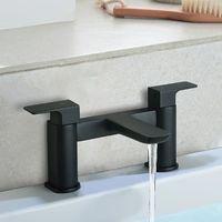 Keninton Bathroom Bath Filler Black Matt Tap