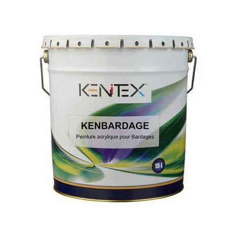 KENITEX Kenbardage Acryl-Siding-Farbe - Wei - 15L