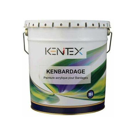 KENITEX Kenbardage Pintura acrílica para revestimientos - Blanco - 15L