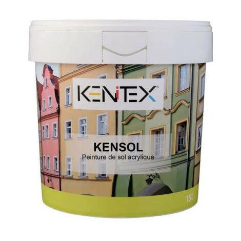 KENITEX Kensol Acryl-Fußbodenfarbe - Mittelgrau - 5L