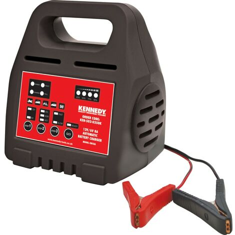 Kennedy 12V/6V 8A Intelligent Automatic Battery Charger
