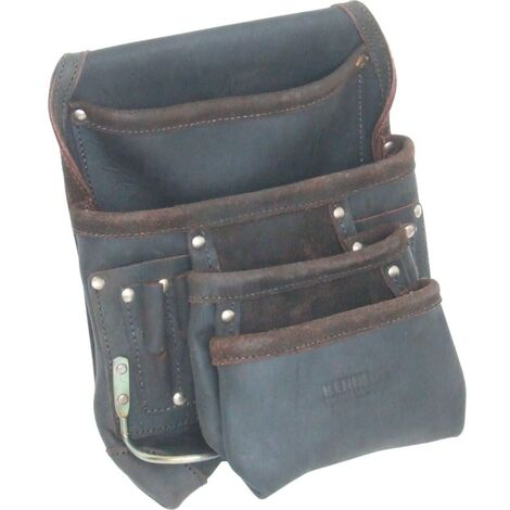 Kennedy 4-POCKET 2-LOOP Large Tool Pouch Oil Tan