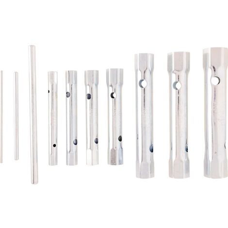 Kennedy 7-PCE Box Spanner Set 6-19mm C/w Tommy Bars