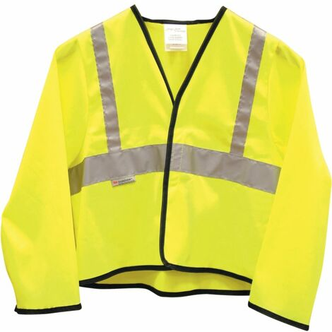 Kennedy Childrens Hi-vis Jacket Polyester 7-8 Yrs