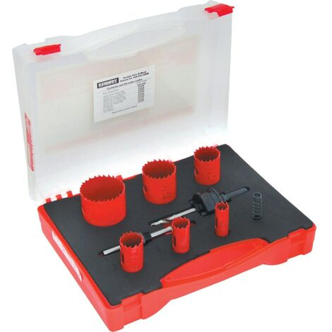 Kennedy Electricians Holesaw Kit IN Plastic Case