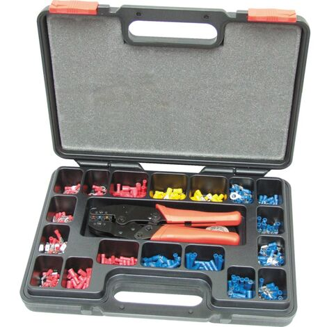 Kennedy Heavy Duty Ratchet Crimping Toolkit 552-PCE