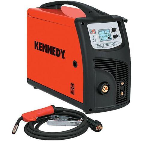Kennedy Lion Dual Synergic 220A MIG/TIG/MMA multi-process welder with MIG acces